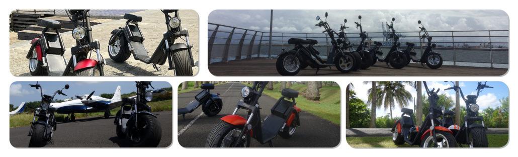Green2ride - Location et Vente Scooter Electrique Citycoco - Les Sables d'Olonne